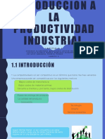 INTRODUCCION A LA PRODUCTIVIDAD INDUSTRIAL (1)