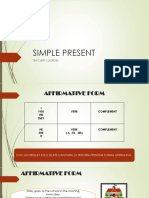 SIMPLE PRESENT (RULES)