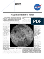 NASA Facts Magellan Mission to Venus