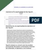 Abandono en la espiritualidad de San Agustín.pdf