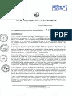 GOREMAD - DECRET00012020