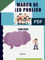 LEY DEL MARCO EMPLEO PUBLICO