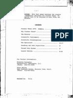 Pioneer Venus Fact Sheet 1976