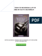 [A280.Ebook] Get Free Ebook Introduction To Business Law In Singapore By Ravi Chandran.pdf
