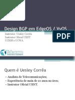 Design BGP em EdgeOS - Aula 1