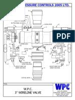 3″ Wireline Valve – Manual & Hydraulic (BOP)