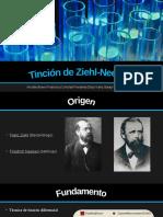 Tinción de Ziehl-Neelsen (ppt)