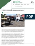 Le Matin - La protection du consommateur face à la pandémie à la lumière de la loi 31-08