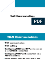 WAN communication