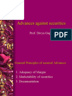 Advances Against Securities