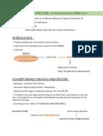 DESIGN WRITE-UP 1  [ORGANIC ARCH]