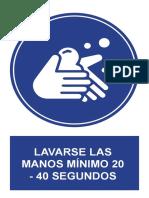 Señaletica Covid 2019