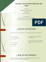 infografia casos de factorización y productos nobles