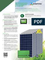 Pliego Kit Solar Manager