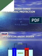 Tank Internal Cathodic Protection