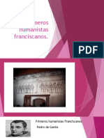 Los primeros humanistas franciscanos