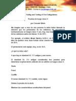 UL 711 – Rating and Testing of Fire Extinguishers - Pruebas de fuego clase A en extintores - por Conrado Marin