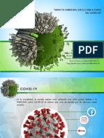efecto del covid-19 en el ambiente