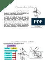4 - Forças e Potencias no corte dos metais.pdf
