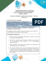 Guía de actividades y rúbrica de evaluación – Tarea  2-Planeación-convertido