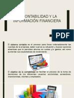 Contabilidad y la información financiera