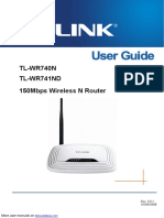 150Mbs Wireless N Router TL-WR740N