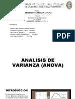 EXPOSICION - ANALISIS DE VARIANZA