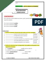 6 - FICHA - 6° DE PRIMARIA