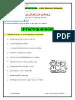 7 - FICHA - 6° DE PRIMARIA