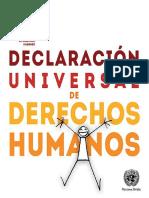 Declaración Universal de los DDHH -1948
