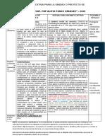 SITUACIONES SIGNIFICATIVAS PARA DOS UNIDADES 2020
