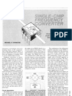 Single-Chip Frequency Converter