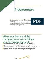 Trigonometry Power Point