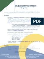 Requisitos de inscripción - Pregrado (TFN) Extranjeros