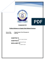 Ammarah Shoaib_Political Influence on Supply Chain Network Decision_Assignment No.2.pdf
