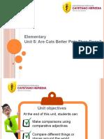 Elementary - Unit 5