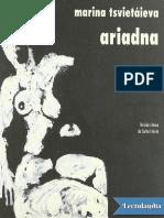 Ariadna - Marina Tsvietaieva