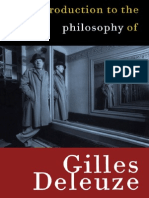 Jean Khalfa, Introduction to the Philosophy of Gilles Deleuze, 1999 Book