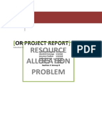 Or Project Report Sec C Group 8