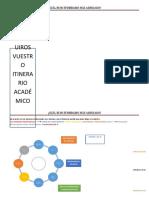 FICHA DEL ITINERARIO
