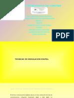 Tecnicas de modulacion digital
