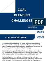 Coal Blending challenges -Mr_ Bhattacharya