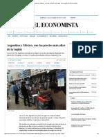 Argentina y México, con los precios más altos de la región _ El Economista