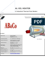 Thermal Oil Heater1