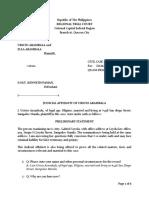 Judicial Affidavit for the plaintiff_1