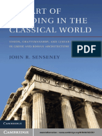 The Art of Building in the Classical World Vision Craftsmanship- and Linear Perspective in Greek and Roman Architecture