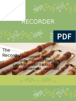 Recorder PPT