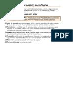 Ejercicios sobre indicadores economicos 1 bachillerato