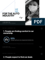 5 trends shaping the new normal for the auto industry post coronavirus pandemic