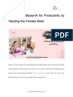 The Secret Blueprint for Productivity by Hacking the Female Brain